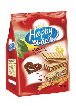 Happy Wafers 200g ( Cocoa )
