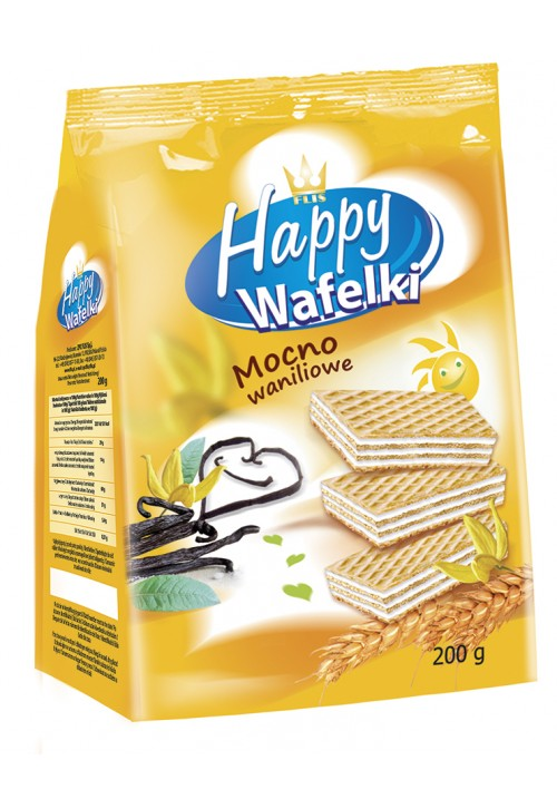Happy Wafers 200g ( vanilla)